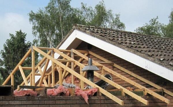 Est il possible de modifier la pente d 39 une toiture for Pente d une toiture