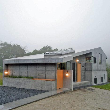 Toiture beton